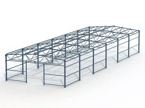 Проект металлической конструкции 468 кв.м. 12х39х4 м
